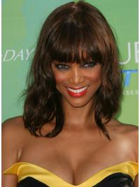 "Perruques Tyra Banks 14"" Naturelle Auburn"
