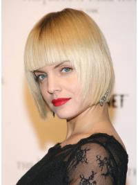 "Perruques Jessie J 10"" Appropriée Blonde"