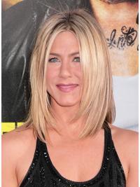 """Perruques Jennifer Aniston 13"""" Elégante Blonde"""