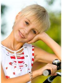"""Perruques Enfants 6"""" Souple Blonde"""