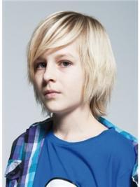 """Perruques Enfants 8"""" Haute Qualité Blonde"""