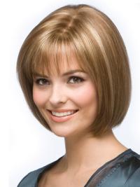 "Perruques Cheveux Humains 9"" Invraisemblable Blonde"