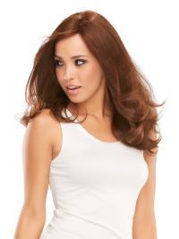 "Perruques Cheveux Humaines 16"" Convenable Auburn"