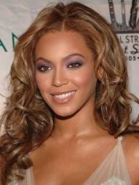 Perruques Beyoncé Aimée Auburn Longue Ondulé