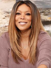 """Perruques Wendy Williams 20"""" Lisse Doux"""