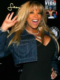 """Perruques Wendy Williams 18"""" Lisse Blonde populaire"""