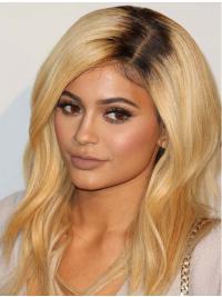 Perruques Ondulé Longue Blonde Beau Kylie Jenner Inspired