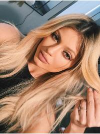 Perruques Ondulé Longue Blonde Incroyable Kylie Jenner Inspired